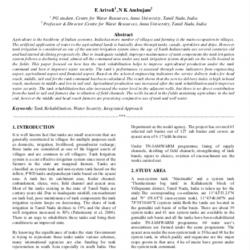 Arivoli E publication 2